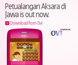 Petualangan Aksara di Jawa on Nokia C3-00