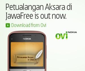 Petualangan Aksara di Jawa on Nokia E5