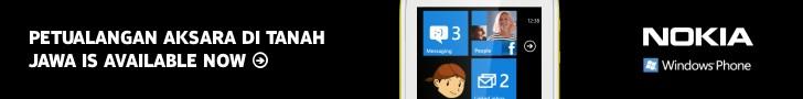 PAJ for WP7 - Nokia Lumia 710 White Banner