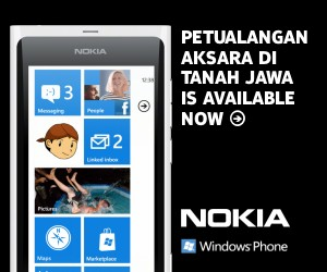 PAJ for WP7 - Nokia Lumia 800 White Banner