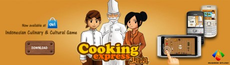 Cooking Express Java 2.0 - Desktop Promotional Banner