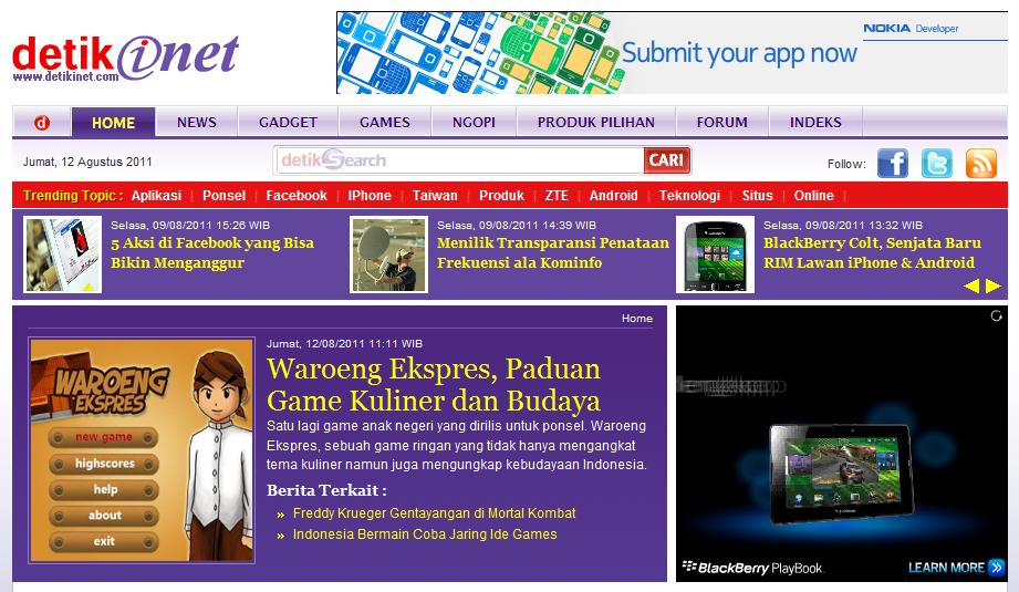 Waroeng Ekspres @detikInet