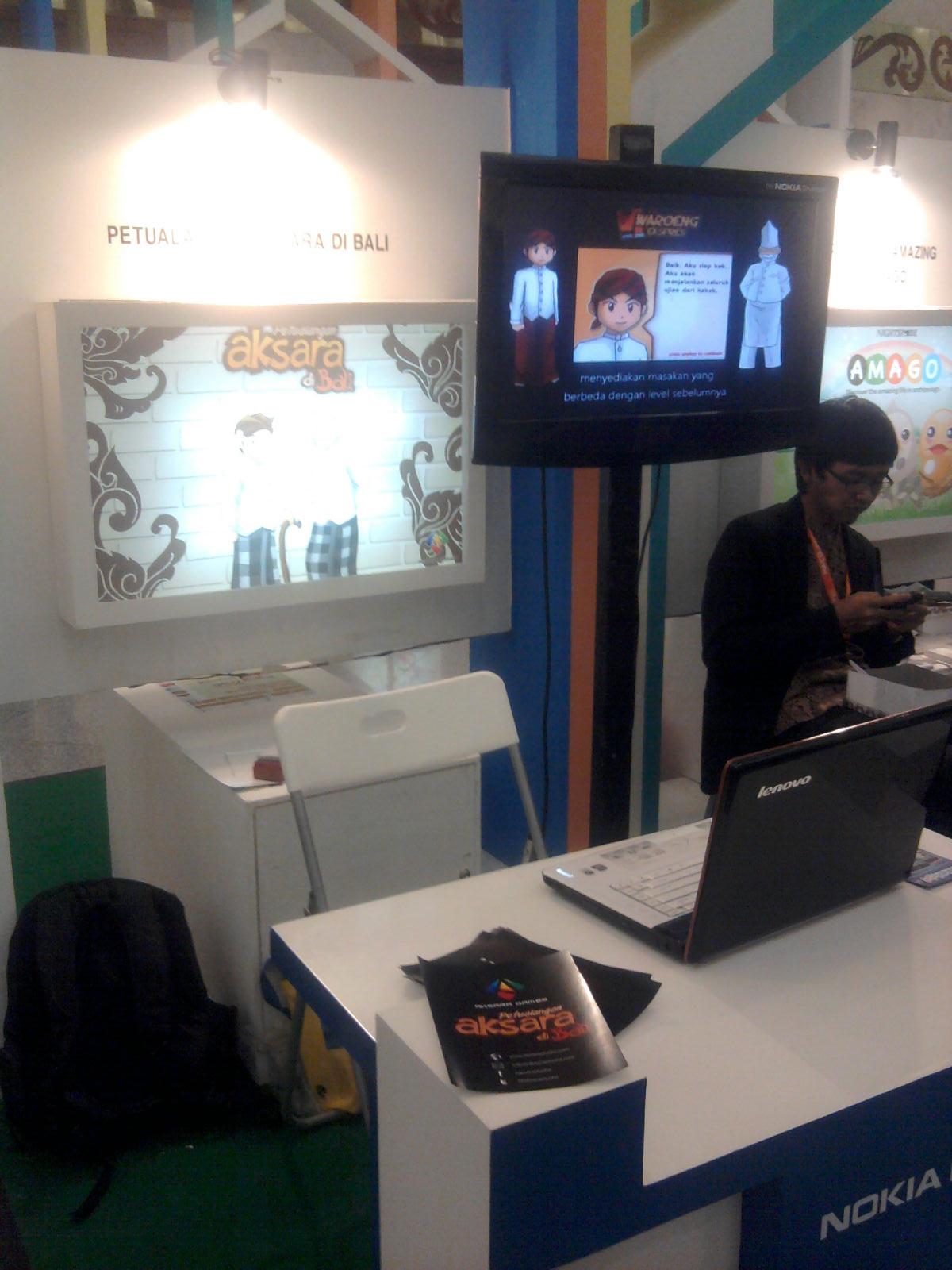Aksara Studio Booth @INAICTA 2011