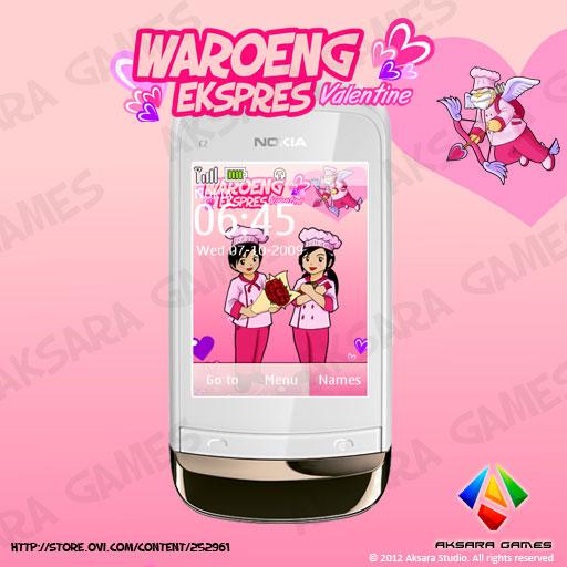 Waroeng Ekspres Valentine Theme for Nokia S40 Touch & Type