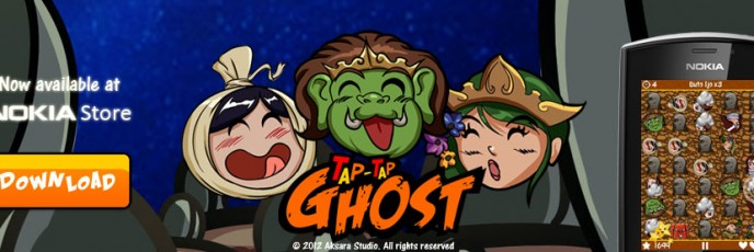 Tap Tap Ghost - Desktop Promotional Banner