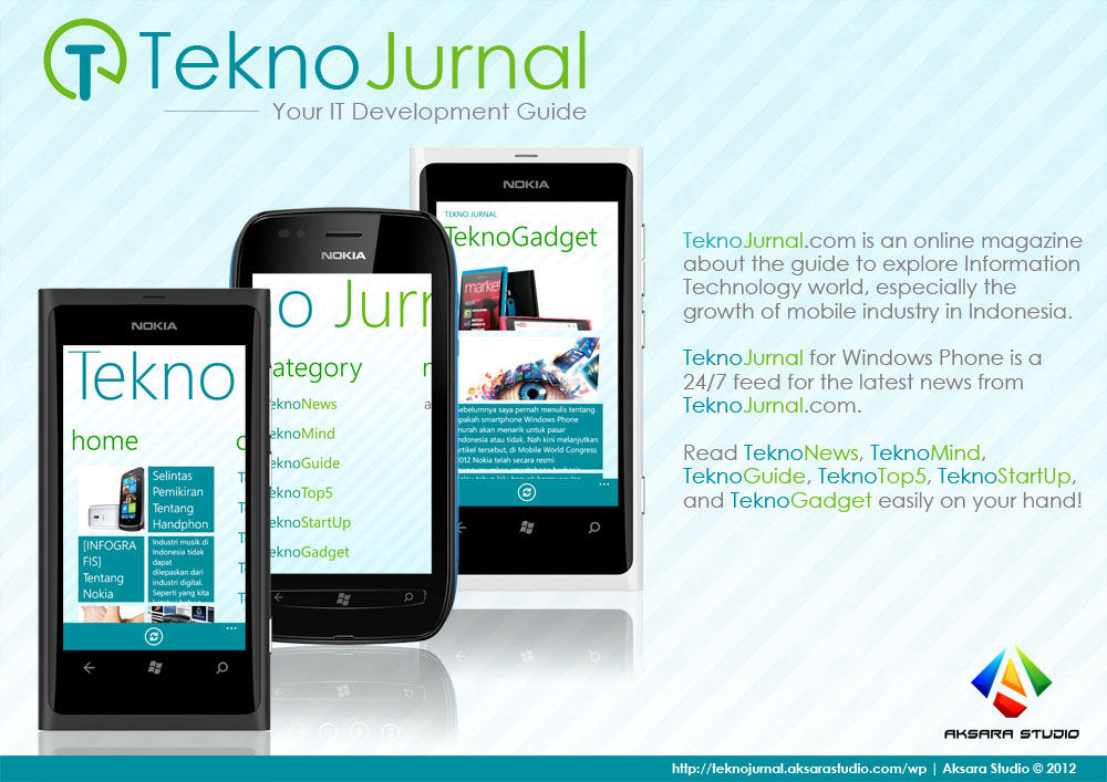 Brochure TeknoJurnal for Windows Phone