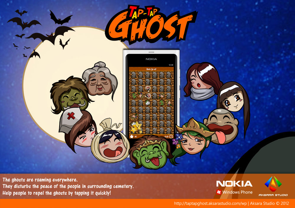 Tap Tap Ghost for Windows Phone Brochure