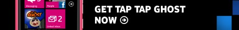 Tap Tap Ghost for Windows Phone on Nokia Lumia 800