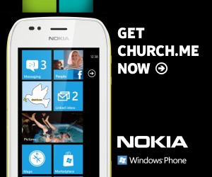 Church.Me on Lumia 710 Banner