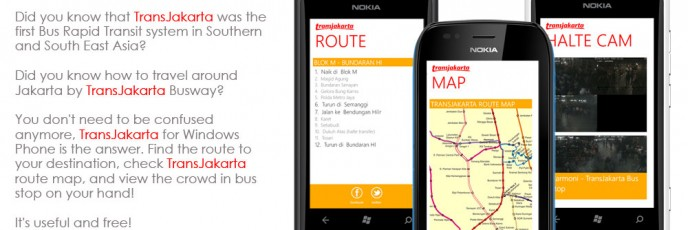 TransJakarta for Windows Phone Brochure