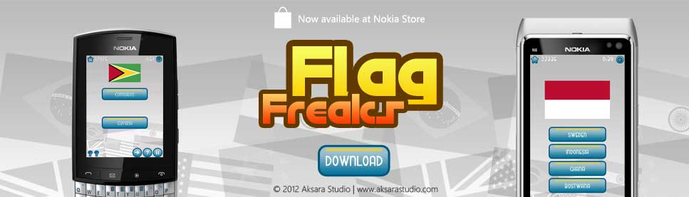 Flag Freaks - Website Promotional Banner