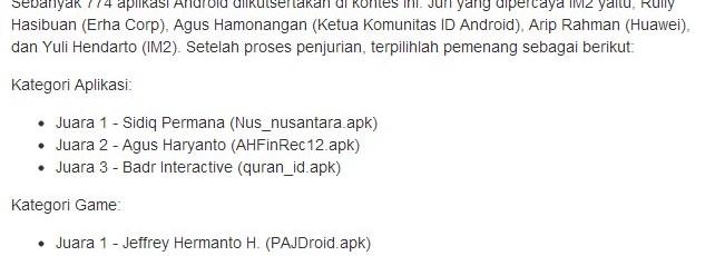 Aksara Studio - IM2 Android App Contest