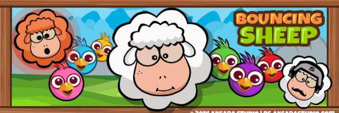 Bouncing Sheep - Banner