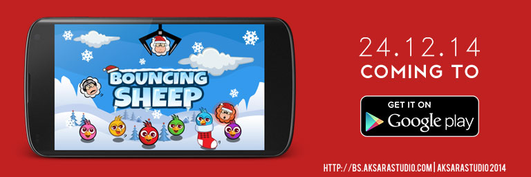 Bouncing Sheep on Google Play Store Launching
